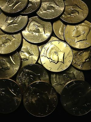 2000- 2019 PD Kennedy Half Dollar 10 Coin Lot All 00&Up Old Original US Mint 50¢