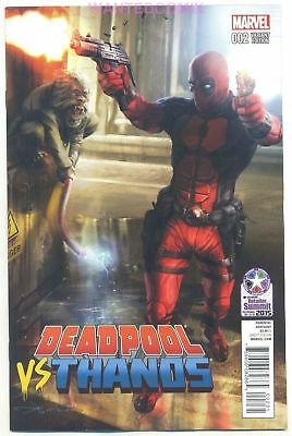 Deadpool Vs Thanos #2 (Of 4) Diamond Retailer Px Variant Cover Comic Book New 1