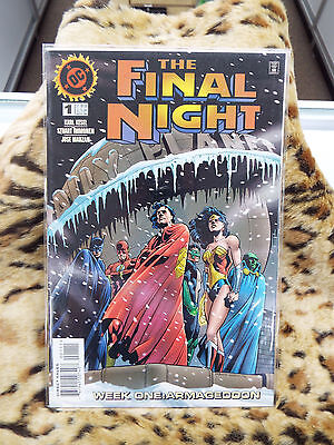 The Final Night #1 November 1996 Comic (Bagged and Boarded)