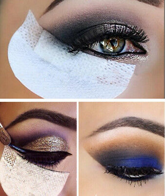 10 x Eye Shadow Cotton Shields Protector Pads For Eyes Makeup Application Tool