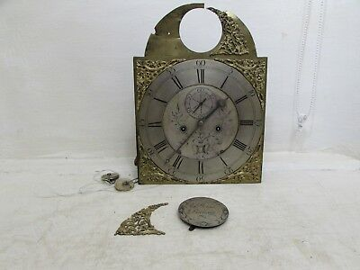 Antique George III Robert Welsh Of Dalkeith Grandfather Clock Movement