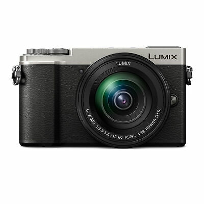 Panasonic LUMIX GX9 20.3MP Mirrorless Camera with 12-60mm F3.5-5.6 Lens (Silver)