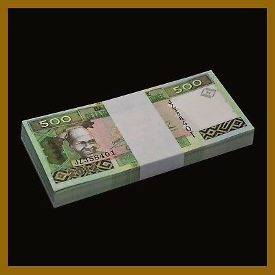 Guinea 500 Francs x 50 Pcs Bundle, 2012 P-39b Unc