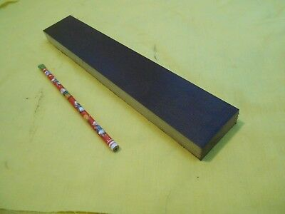 "BROWN PHENOLIC FLAT STOCK machinable micarta sheet bar plate 3/4"" x 2"" x 12"""