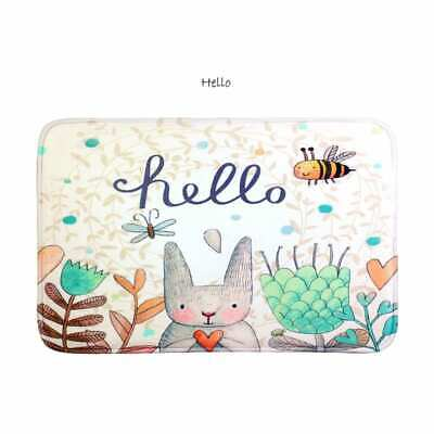60x39CM Boho & Cute Microfibre Bath Mat Bathmat Unicorn Rabbit Flamingo Skull