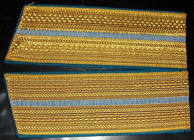 Russian from Soviet era golden shoulder boards for Air Force officers