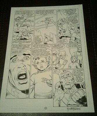 Green Lantern - Original Comic Art - DC - Signed - Romeo Tanghal - 1992