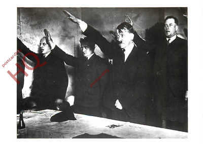 Picture Postcard~ Adolf Hitler, Giving The Nazi Salute, Lemgo Election [Np]