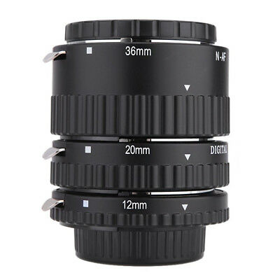 Meike-N-AF1-B Auto Focus Macro Extension Tube Set Ring for Nikon AU