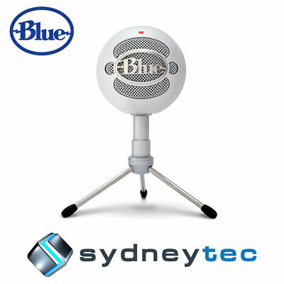 New Blue Microphones Snowball iCE USB Microphone with HD Audio - White