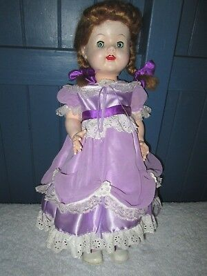 "PEDIGREE DOLL- Lovely 21"" AMERICAN SAUCY WALKER COPY.1950's.NON-WALKING.VGC."
