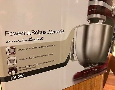 Electrolux RED Stand Kitchen Assistant (Mixer) BRAND NEW Sealed Like KitchenAid