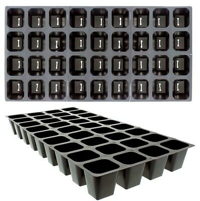 Seed Starting Tray Inserts, 72 Square Cells Growing Supply, Propagation 2 Trays