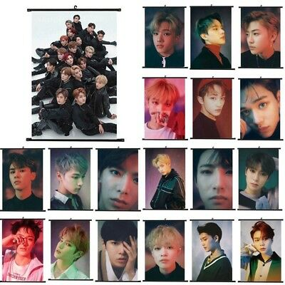 1PC KPOP NCT127 NCT U Photo Card Poster Lomo Cards Scroll Cloth Poster