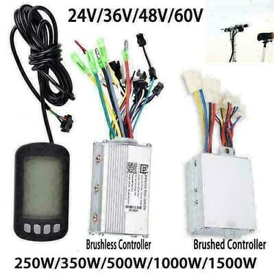 250W-1500W Electric Brushed Brushless Motor Controller for E-bike Bike Scooter