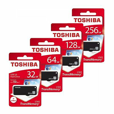 Toshiba 32/64/128/256GB TransMemory U365 USB 3.0 Flash Drive USB Stick 150MB/s