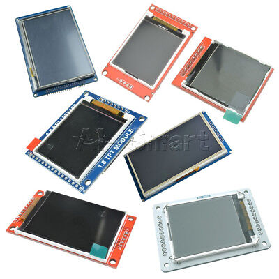"1.44/1.8/5/7"" Inch Serial SPI TFT LCD Display Shield  ST7735S SSD1963 Module"