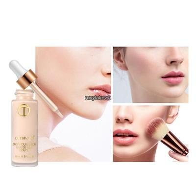 Women Cosmetic Professional Neutral Face Whiten Liquid Makeup Concealer RLWH 01