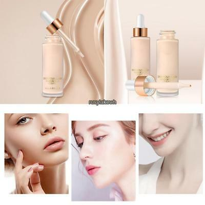 Women Cosmetic Professional Neutral Face Whiten Liquid Makeup Concealer RLWH