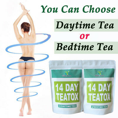 14 Days Detox Slimming Weight Loss Tea Appetite Suppressant Thin Belly Eyeful