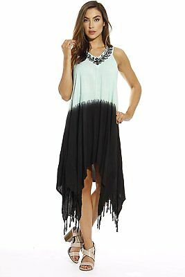 278146ba7604f RIVIERA SUN SUMMER Dresses Tie Dye Embroidered Beach Swimsuit Cover ...