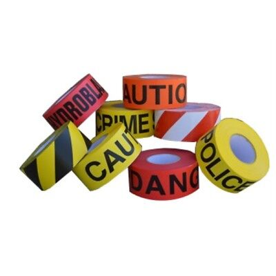 """Barricade Tape 3"""" Non Adhesive 3 mil (Roll)"""