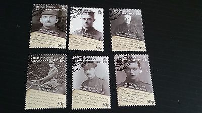British Indian Ocean Territory 2008 Sg 385-390 90Th Anniv Of End Of War Used
