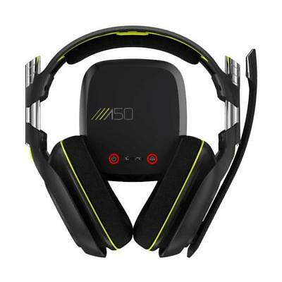 Astro A50 Wireless headset system for Xbox One & Pc (Black/Green)-Grade A Refurb