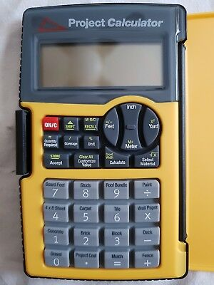 Project Calculator - Great for DIY, Students & Tradesman Ideal Gift Father Day