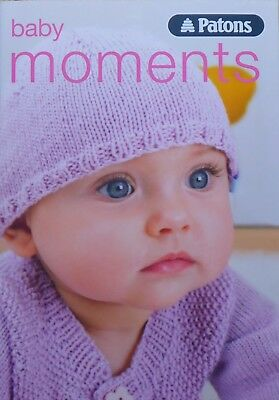 Babies KNITTING PATTERN BOOK Patons Baby Moments 4ply KNITTING BOOK