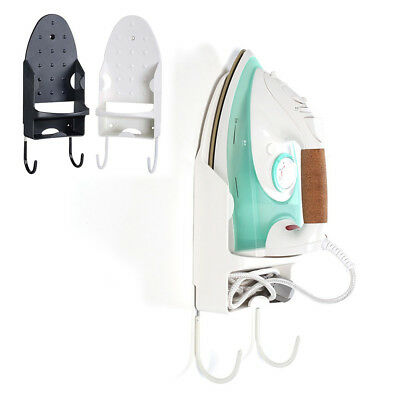 CO_ Laundry Iron Board Hook Holder Wall Mount Storage Board Hook Hotel Home Qual