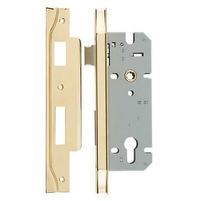 Tradco Rebated Euro Mortice Lock (85Mm Pitch)