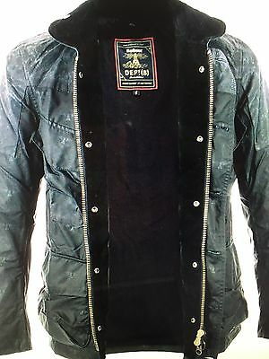 New Barbour Dept B  Mast Wax Navy Heritage Collection Jacket XL slim fit $600