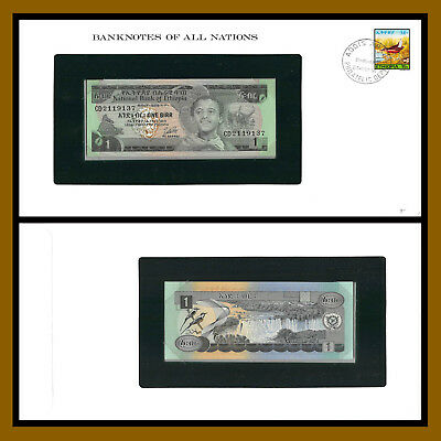 Ethiopia 1 Birr, 2006 P-46 Banknotes of all Nations Unc