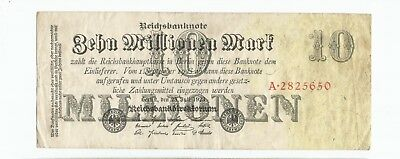 Germany Weimar Republic 10 Million mark July 1923 P-96 Ro-95 (B190)