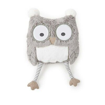 Levtex Home Baby Night Owl Pillow, Taupe New