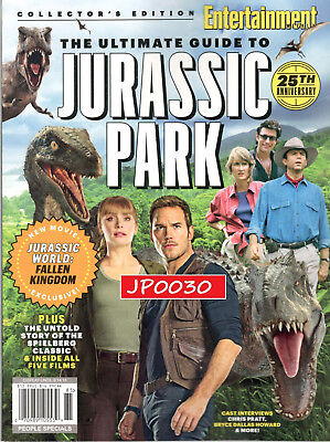 Entertainment Weekly 2018, The Ultimate Guide to Jurassic Park, Brand New/Sealed