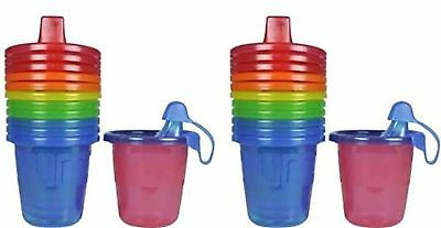 The First Years Take & Toss Spill-Proof Sippy Cups - 7 Oz - 12 Cups New