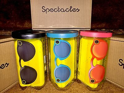 NIB Sealed Snapchat Spectacles Sunglasses - All Colors Available, FREE Shipping!