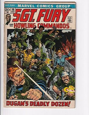 Sgt. Fury #98 (May 1972, Marvel)