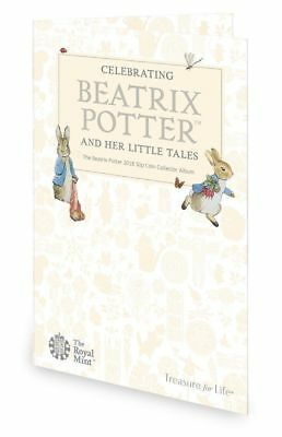 Beatrix Potter & Her Little Tales 50p Coin Collector Album Royal Mint Album 2018