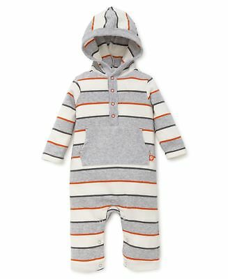 fb94733d1 OFFSPRING BABY APPAREL Baby Boys  Hooded Coverall Safari Fun 6M New ...