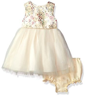 f68b8c47e Laura Ashley London Baby Girls Special Tutu Party Dress Gold Tutu 18 Months  New