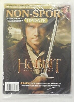 HOBBIT Cover & PROMO Card + Breaking Bad NON-SPORT UPDATE Vol 24 # 6 SEALED