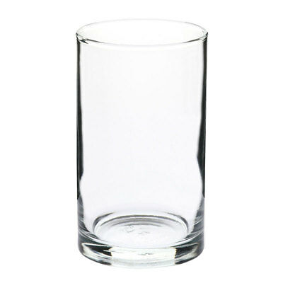 72x Crown Commercial Tumbler Glass 260mL Cocktail Juice Mixed Drink Mixology