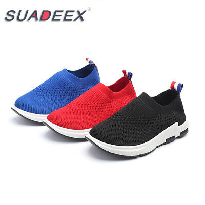 SUADEEX Boys Girls Kids Outdoor Sneaker Breathable Sports Running Shoes
