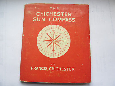 THE CHICHESTER SUN COMPASS with INSTRUCTION BOOKLET FIRST EDITION 1944 LONDON