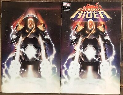 Cosmic Ghost Rider 1 Gerald Parel Variant Set Pre-Sale 7/4