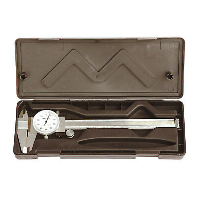 """HFS(R) 0- 6"""" Stainless 4 Way Dial Caliper .001"""" Shock Proof"""