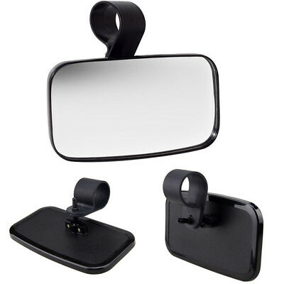 "Center Wide Mirror Rear View For Universal UTV Off Road Large Adjustable 1.5""-2"""